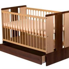 Patut Copii Lemn Cu Sertar Paula Venghe - Patut lemn pentru bebelusi Klups