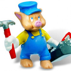 Little Pigs Mechanic - Figurina Desene animate Bullyland