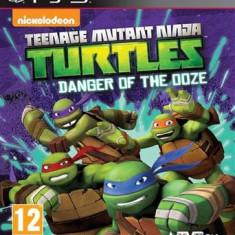 Teenage Mutant Ninja Turtles Danger Of The Ooze Ps3 - Jocuri PS3 Activision, Actiune, 12+
