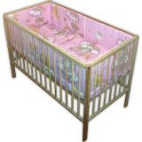 Lenjerie Patut Hubners Ursulet Somn Usor 5 Piese Roz - Lenjerie pat copii