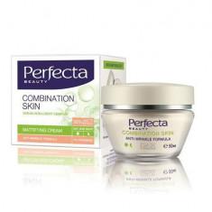 Perfecta Crema Matifianta Antirid Zi/Noapte Pentru Ten Mixt 35+, 50 Ml - Crema antirid