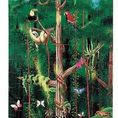 Meliss&Doug Puzzle Melissa & Doug De Podea Padurea Tropicala 100 Pcs