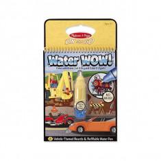 Apa Magica Carnet De Colorat Vehicule Melissa And Doug - Carte educativa