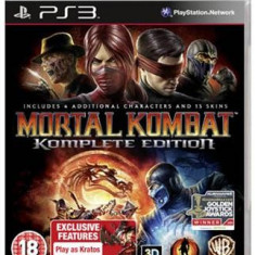 Mortal Kombat Komplete Edition Ps3 - Jocuri PS3, Actiune, 16+
