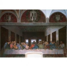 Puzzle Ravensburger Leonardo Da Vinci - Cina Cea De Taina, 1000 Piese