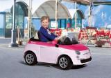Peg Perego - Fiat 500 Pink/Fucsia, Peg Perego