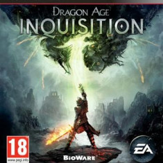 Dragon Age Inquisition Ps3 - Jocuri PS3 Electronic Arts, Role playing, 18+