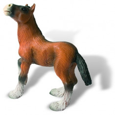 Manz Cal Shire - Figurina Animale Bullyland