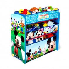 Organizator Jucarii Cu Cadru Din Lemn Disney Mickey Mouse - Set mobila copii