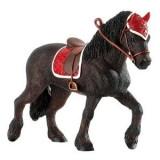 Iapa Cal Friesian - Figurina Animale Bullyland