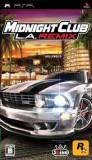 Midnight Club La Remix Psp, Curse auto-moto, 12+, Rockstar Games