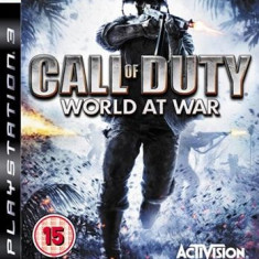 Call Of Duty World At War Ps3 - Jocuri PS3 Activision, Shooting, 18+