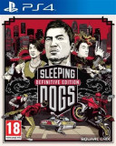 Sleeping Dogs Definitive Edition Limited Edition Ps4