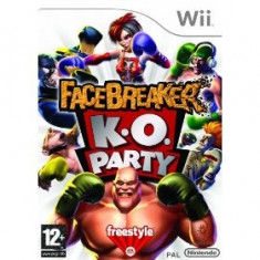 Facebreaker K.O. Party Wii - Jocuri WII Electronic Arts