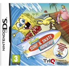 Spongebob Surf & Skate Roadtrip Nintendo Ds - Jocuri Nintendo DS Thq