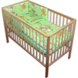 Lenjerie Patut Hubners Ursulet Somn Usor 4 Piese Verde - Lenjerie pat copii