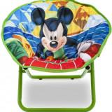 Fotoliu Pliabil Pentru Copii Mickey Mouse - Masuta/scaun copii Delta Children