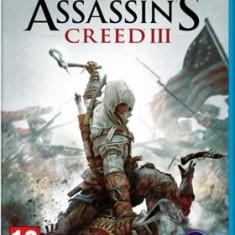 Assassin's Creed 3 Nintendo Wii U - Jocuri WII U Ubisoft, Actiune, 18+