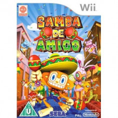Samba De Amigo Nintendo Wii - Jocuri WII Sega, Actiune, Toate varstele