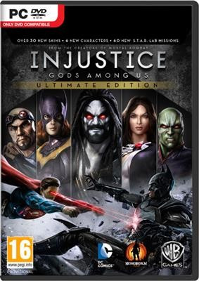 Injustice Gods Among Us Ultimate Edition Pc foto mare