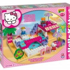 Set Constructie Unico Plus Hello Kitty La Piscina - Set de constructie