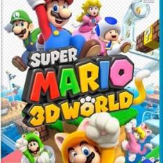 Super Mario 3D World Nintendo Wii U - Jocuri WII U, Arcade, 3+