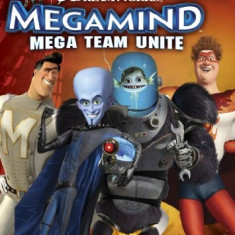 Megamind Mega Team Unite Nintendo Wii - Jocuri WII Thq, Actiune, 12+