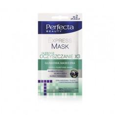 Perfecta Beauty Express Mask - Masca Purificatoare Pentru Fata, 10 Ml - Masca fata