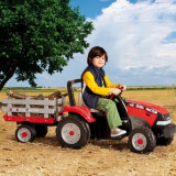 Peg Perego - Maxi Diesel Tractor W/Trailer, Peg Perego