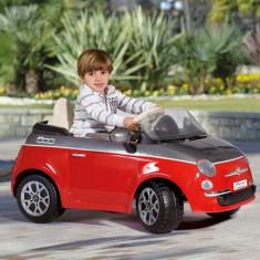 Peg Perego - Fiat 500 Red/Grey - Masinuta electrica copii