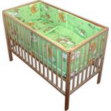 Lenjerie Patut Hubners Ursulet Somn Usor 5 Piese Verde - Lenjerie pat copii