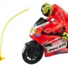 Mondo Motors Motocicleta Ducati Valentino Rossi Cu Lansator - Masinuta electrica copii