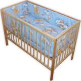Lenjerie Patut Hubners Ursulet Somn Usor 5 Piese Albastru - Lenjerie pat copii