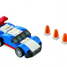 Masina Albastra De Curse (31027) - LEGO Creator