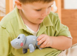 Jucarie Animal Safari First Friends Hipopotam Tolo, TOLO Toys
