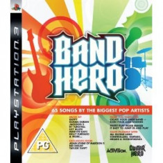 Band Hero Ps3, Actiune, 12+, Activision