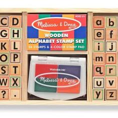 Set De Stampile Alfabet Melissa And Doug - Jocuri arta si creatie Melissa & Doug