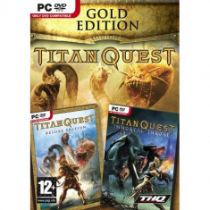 Titan Quest Gold Edition Pc - Joc PC Thq, Role playing, 16+, Single player