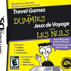 Travel Games For Dummies Nintendo Ds - Jocuri Nintendo DS Electronic Arts