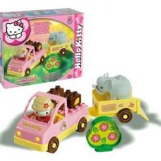Set Constructie Unico Plus Hello Kitty Mini Safari - Jocuri Seturi constructie