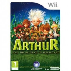 Arthur And The Revenge Of Maltazard Wii - Jocuri WII Ubisoft, Actiune, 3+
