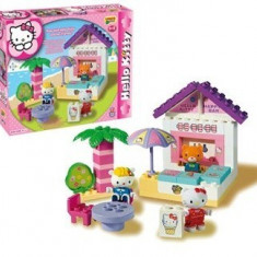 Set Constructie Unico Plus Hello Kitty Minibar - Jucarii plus