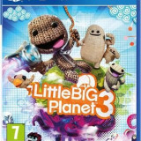 Little Big Planet 3 Ps4 - Jocuri PS4, Actiune, 3+
