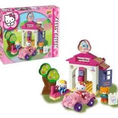 Set Constructie Unico Plus Hello Kitty La Spalatorie - Jocuri Seturi constructie