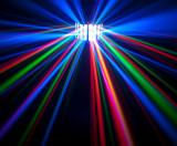 Cumpara ieftin SCANNER LUMINI DISCO CU LEDURI SMD DERBY LIGHT ACTIVARE LA MUZICA,FULL COLOR.