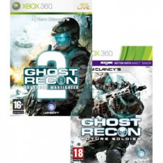 Tom Clancy's Ghost Recon Future Soldier And Advanced Warfighter 2 Xbox360, Shooting, 16+