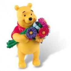 Pooh Cu Flori - Figurina Desene animate Bullyland