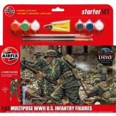 Kit Constructie Infanterie Americana - Set de constructie Airfix