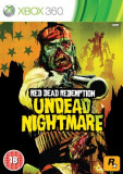 Red Dead Redemption Undead Nightmare Xbox360, Shooting, 18+, Rockstar Games