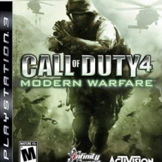 Call Of Duty 4 Modern Warfare Ps3 - Jocuri PS3 Activision, Shooting, 18+